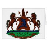 lesotho emblem cards