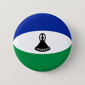 Lesotho Fisheye Flag Button