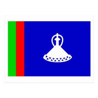 Lesotho Flag 1966-1987 Postcard
