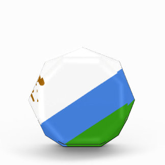 Lesotho Flag Acrylic Award