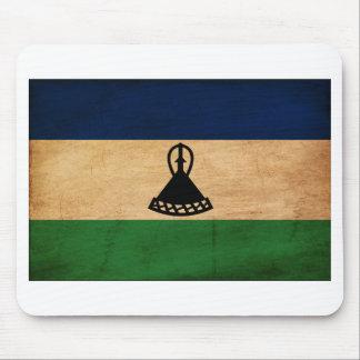 Lesotho Flag Mousepads