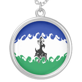 Lesotho Gnarly Flag Jewelry