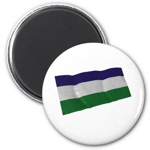 Lesotho Imán Redondo 5 Cm