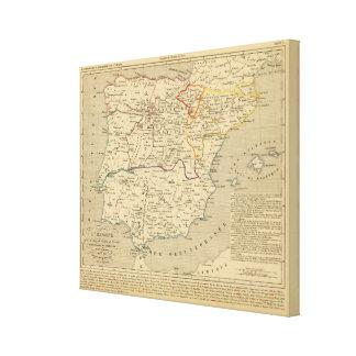 L'Espagne 1027 a 1212 Canvas Print