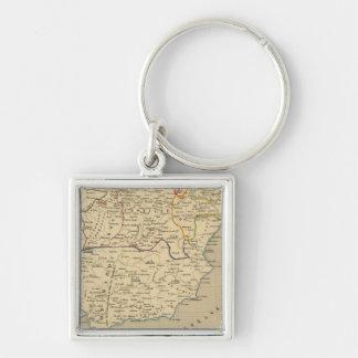 L'Espagne 1027 a 1212 Keychain