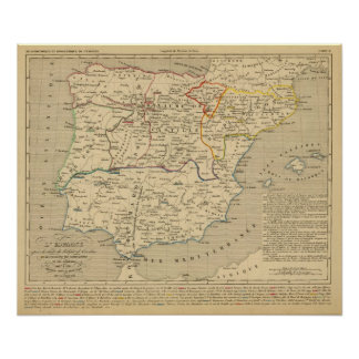 L'Espagne 1027 a 1212 Poster