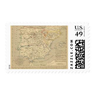 L'Espagne 1027 un 1212 Sello