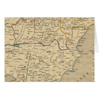 L'Espagne 1027 un 1212 Tarjeta