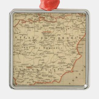 L'Espagne 756 a 1030 Metal Ornament