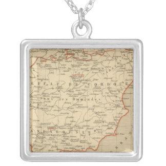 L'Espagne 756 a 1030 Square Pendant Necklace