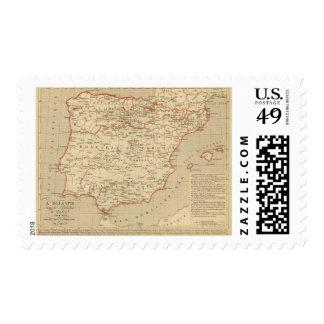 L'Espagne 756 a 1030 Stamp