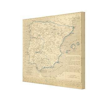 L'Espagne sous les Romains 409 ans apres JC Canvas Print
