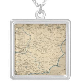 L'Espagne sous les Romains 409 ans apres JC Silver Plated Necklace