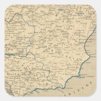 L'Espagne sous les Romains 409 ans apres JC Square Sticker
