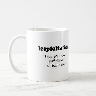 LESPLOITATION COFFEE MUG