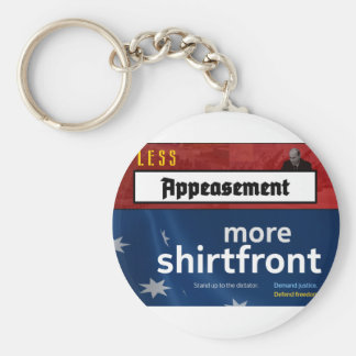 Less Appeasement, more shirtfront (Full) Keychain