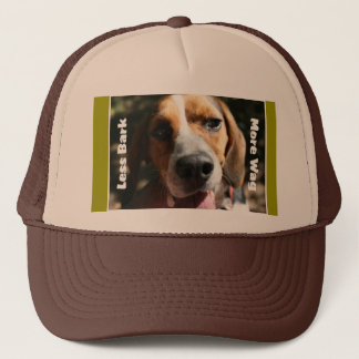 Less Bark, More Wag Hat