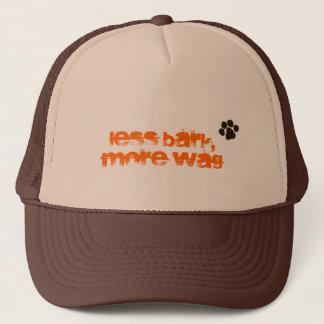 Less Bark, More Wag w/ Signature Trucker Hat
