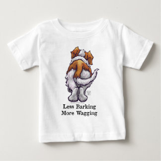 Less Barking, More Wagging Baby T-Shirt