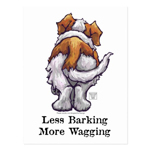 Less Barking, More Wagging Postcards
