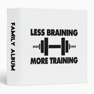 Less Braining More Training Binder