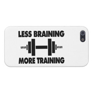 Less Braining More Training iPhone SE/5/5s Cover