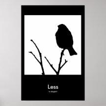 Less is Elegant Print