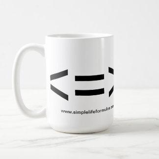 Less is More Formula Mug