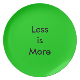 Less is More Plate for Weight Watchers