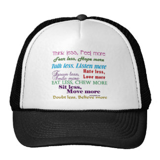 Less is More Trucker Hat