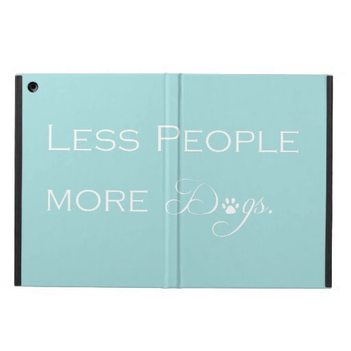 Less People More Dogs Case For iPad Air