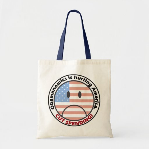 Less Spending Less Government Listen to the People Bag