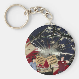Less Spending Less Government Listen to the People Keychain
