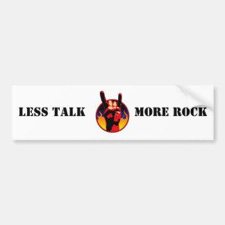 Less Talk Car Bumper Sticker