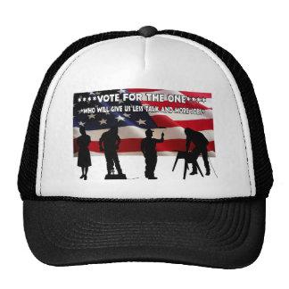 Less Talk More Jobs Trucker Hat