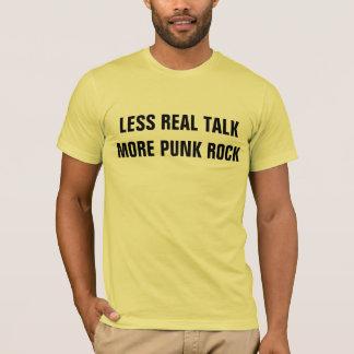 less talk more rock tee