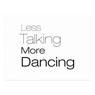 Less Talking More Dancing Postcards