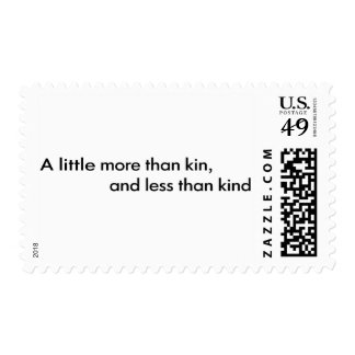 Less Than Kind Postage Stamps