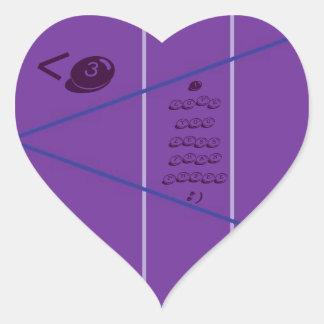 Less Than Three <3 Heart Sticker