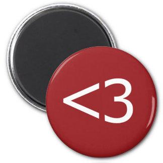 Less Than Three Heart Magnet