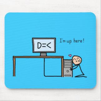 """Less Than Three"" mousepad"