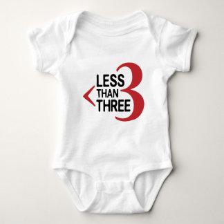 Less Than Three Shirt