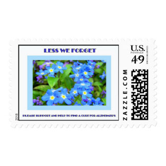 LESS WE FORGET STAMP