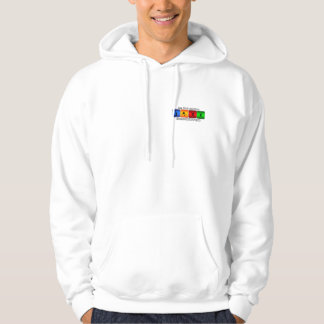 Less Work And More Badminton Hoodie