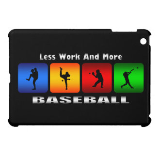 Less Work And More Baseball iPad Mini Case