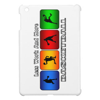 Less Work And More Basketball iPad Mini Case