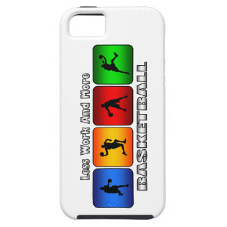Less Work And More Basketball iPhone SE/5/5s Case