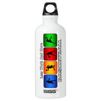 Less Work And More Basketball SIGG Traveler 0.6L Water Bottle