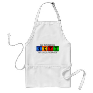 Less Work And More Bodybuilding Adult Apron