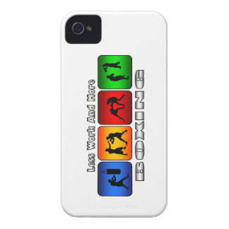 Less Work And More Boxing iPhone 4 Case-Mate Case